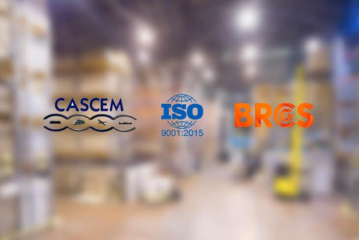Certificaciones servicios de logística - Logística Integral - Logistorage